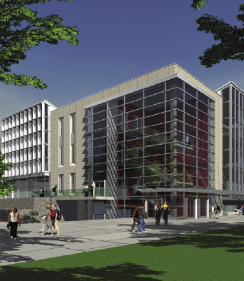 Irving K. Barber Learning Centre rendering