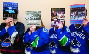 Hockey history at UBC Library