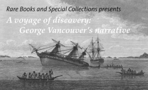 Exhibition at Rare Books and Special Collections