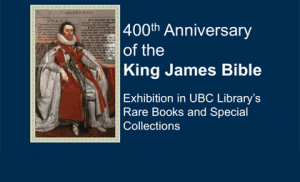 King James Bible exhibition at RBSC