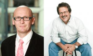 Paul Cubbons (left), George Moen