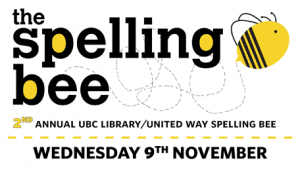 UBC Library/United Way Spelling Bee