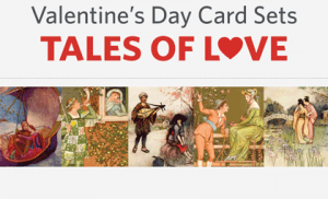 Love is in the air – Valentine's Day card sets now on sale