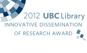 Fisheries portal wins UBC Library's Research Award
