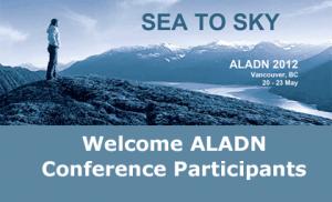 UBC Library welcomes ALADN 2012: Sea to Sky