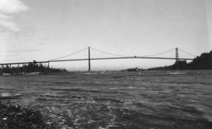 Lions Gate Bridge (0061.VCA), courtesy of the West Vancouver Memorial Library