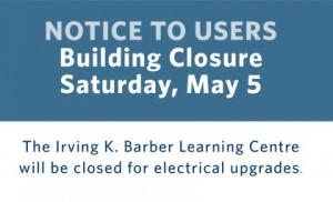 IKBLC closed May 5