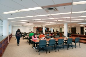 Canaccord Learning Commons. Photo: Martin Dee