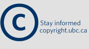 New Copyright at UBC website