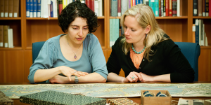 Staff members Katherine Kalsbeek and Shirin Eshghi are part of the Managing at UBC program.