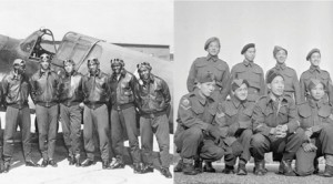 Tuskeegee Airmen and Chinese-Canadian war vets