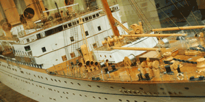 Image of boat model