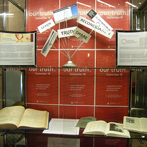 image of exhibit display