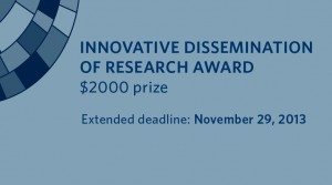 2014 Innovative Dissemination of Research Award