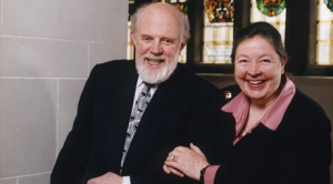Earl and Suzanne Dodson, longtime supporters of UBC Library.