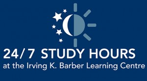 24/7 hours at the Learning Centre