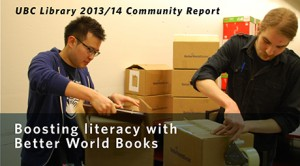 Boosting literacy with Better World Books