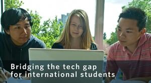 Bridging the tech gap for international students