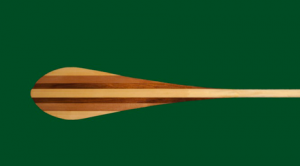 Paddle created by Keith Point, of the Skowkale First Nation in Chilliwack, who also descends from the Musqueam First Nation.