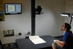 Student Digitization Assistant displaying a TTI workstation