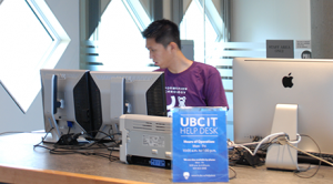 UBC IT Help Desk in Koerner Library