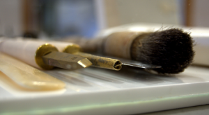 Dorothy Burnett Bookbinding Tools exhibition