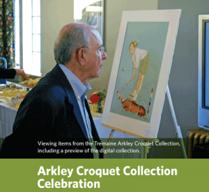 Arkley Croquet Collection celebration
