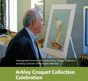 Arkley Croquet Collection celebration
