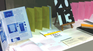 Book design exhibition