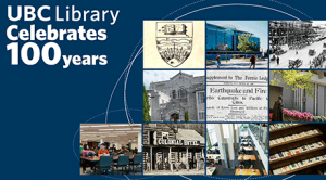 Celebrate UBC Library's 100th anniversary