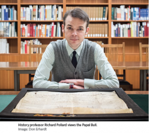 Medieval Papal Bull comes to UBC Library