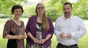 2015 Recipients of Library Staff Awards announced