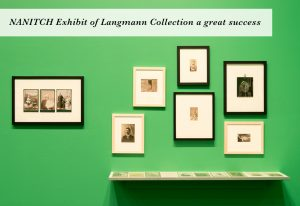 NANITCH Exhibit of Uno Langmann Collection a great success