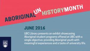 Experience Aboriginal (Un)History Month 2016