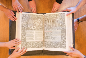 Take a tour of Rare Books and Special Collections (RBSC)