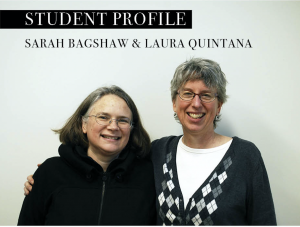 Meet Sarah and Laura, Student Curators