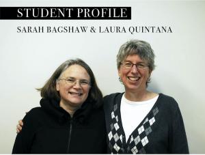 Meet Sarah and Laura, Student Curators