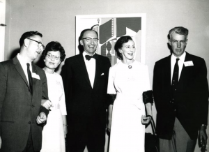 Members of the class of 1932 at their 20-year reunion in 1952.