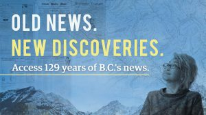 B.C. Historical Newspapers Archive