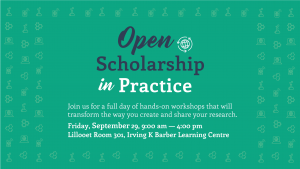 Open Scholarship in Practice