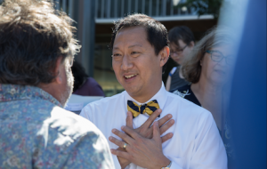 President Ono's speeches now available in cIRcle