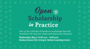 Open Scholarship in Practice – May 2