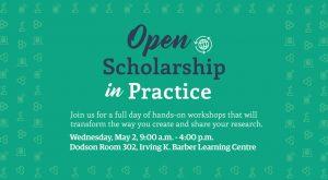 Open Scholarship in Practice – May 2
