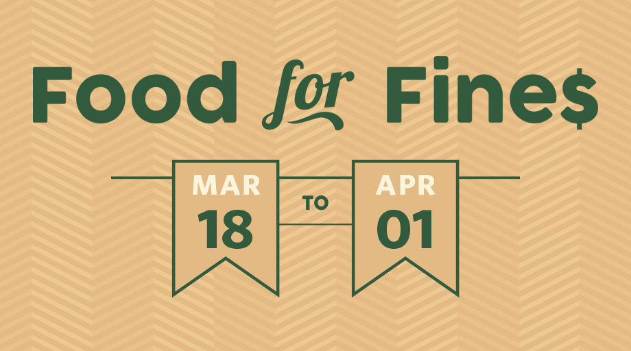 Food For Fines Spring 2019