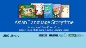 Asian Language Storytime