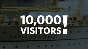 Chung Milestone: 10,000th Visitor!