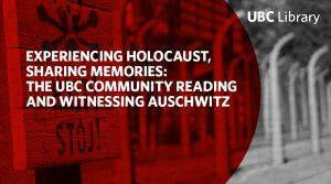 Visit an exhibit commemorating the 75th anniversary of the liberation of Auschwitz