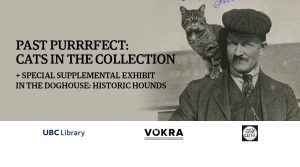 UBC Library hosts Past Purrrrfect, an exhibit featuring cats in the collection