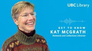 Meet Kat McGrath, Renewals and Collections Librarian