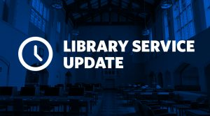 Library service update regarding daily overdue fines
